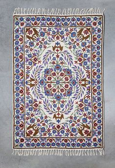 Purple Area Rug, Royal Blue Rug, Floral Area Rugs, Area Rug For Sale,3X5  Area Rugs,oriental Rugs For Sale,room Size Rugs