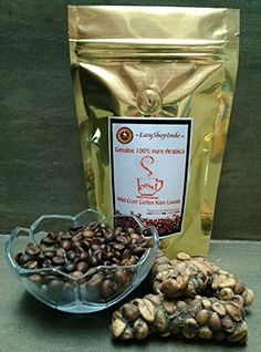 Genuine 100% Pure Arabica Wild Civet Coffee Kopi Luwak Fresh Roasted Beans >>> Check out this great product. (This is an affiliate link and I receive a commission for the sales)