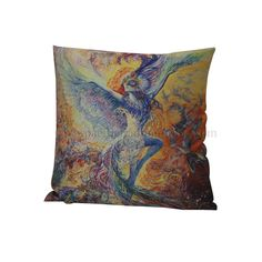 90195 Blue Bird Pillow