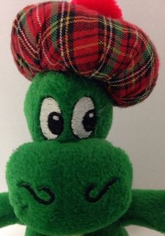 """Loch Ness Monster Plush 7"""" Nessie Stuffed Animal Scotland Thistle Productions #ThistleProductions"""