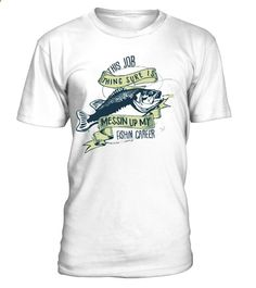Fishing Career Special Shirt