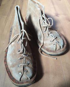 60's Surfer Desert Boots. Men's size 9.
