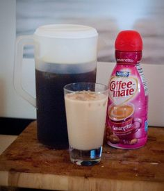 DIY brewed iced coffee. Bomb it!