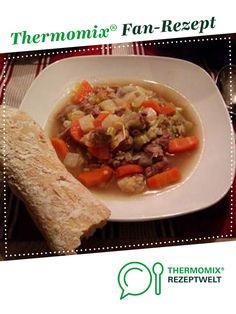 Omas Rindfleischsuppe von elAnimal. Ein Thermomix ® Rezept aus der Kategorie Suppen auf www.rezeptwelt.de, der Thermomix ® Community.