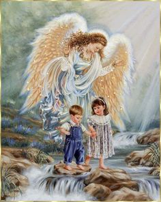 HAVE NO FEAR…..THEY WILL NOT SLIP OR FALL……..SEE THAT GUARDIAN ANGEL (??), SHE'LL TAKE PERFECT CARE OF THEM………….ccp