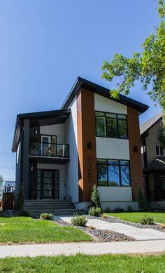 Small House Exteriors, Tiny House Exterior, Narrow House Plans, Tiny House Plans, 2 Storey House Design, Small House Design, Best Tiny House, Batangas, A Frame House