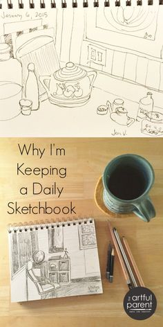 Daily Morning Sketchbook Routine: Get the Creative Urge Out of Your System First Thing in The Morning