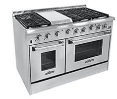 Thor Kitchen 6 Burner Gas Range with Double Oven Look Good Feel Good, One With Nature, Christmas Gifts For Her, Gifts For Boys, How To Cook Pasta, Food Preparation, No Cook Meals, Food Hacks, Oven