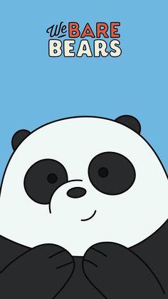 Aesthetic Wallpaper Cute Wallpaper within We Bare Bears Wallpaper Panda - All Cartoon Wallpapers Cute Panda Wallpaper, Bear Wallpaper, Cute Disney Wallpaper, Iphone Wallpaper, We Bare Bears Wallpapers, Panda Wallpapers, Cute Cartoon Wallpapers, Ice Bear We Bare Bears, We Bear