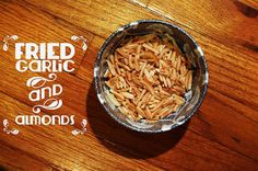 Potato Soup with Fried Almonds
