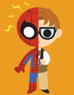 Spider-man/Peter Parker/Avengers Created by Genjyo Sanzo (Via: ge-ek)   HeroChan