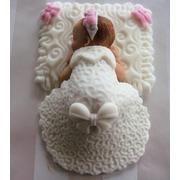 Pastel de figura bebe