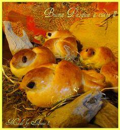 CIBO VINO E PAROLE ...: Gli uccellini di Pasqua