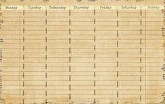 Free Desktop Calendar Printable
