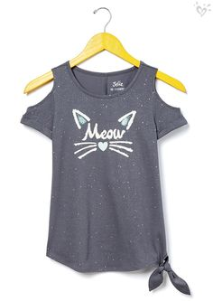 The purrfect top she needs in her life right meow.