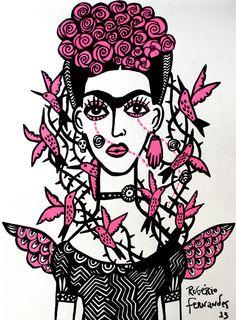 Uma Frida Para Um Dia de Chuva http://rogeriofernandes.com.br/index.php/