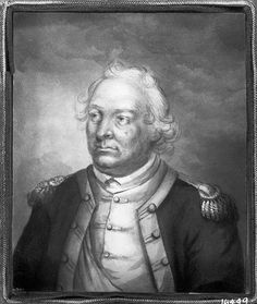 Posthumous Portrait of General Israel Putnam by Ann Hall, after painting by John Trumbull, undated. Watercolor and sepia wash on parchment, 4 1/2 x 3 1/2 in., presently unlocated