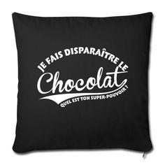 Disparaître le chocolat Autres - Housse de coussin décorative 44x 44cm