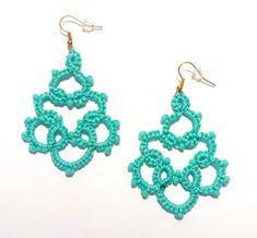 Items similar to Lace earrings, Chandelier earrings, Webbed earrings, Statement earrings on Etsy Lace Earrings, Chandelier Earrings, Statement Earrings, Crochet Earrings, Cosmetics & Perfume, Handmade Jewelry, Jewels, Etsy, Tatting Earrings