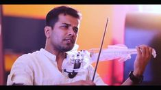 Violin cover of Vennilave by with his 5 Electric Violin, Indian Music, Faces, Memories, Cover, Face, Blanket, Facial
