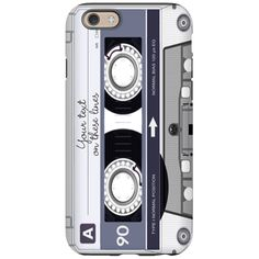 Customizable Cassette Tape - G iPhone 6 Tough Case on CafePress.com - Customize this cassette tape case for the music lover in your life!