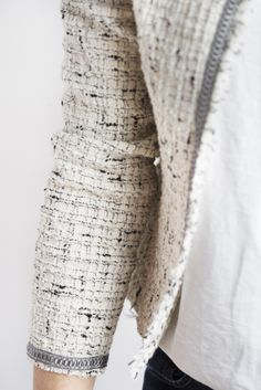 Jackie vest by La Maison Victor. More DIY fashion inspiration: www.lamaisonvictor.com