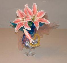 Candy bouquet center pieces