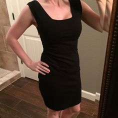 Express little black dress! Size 0. Express little black dress! Size 0.  Only worn 3 or 4 times.  Great condition!  I love this dress, it is just a little tight on me!  No trades. Please use offer button to negotiate. Express Dresses Mini