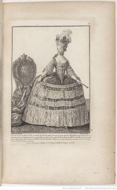 Galerie des modes et costumes français / dessinés d'après nature, gravés par les plus célèbres artistes en ce genre; et colorés avec le plus grand soin par Madame Le Beau : ouvrage commencé en l'année 1778 | Gallica