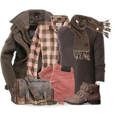 Color Zone 7: Brown Eyed Girl, created by tufootballmom on Polyvore