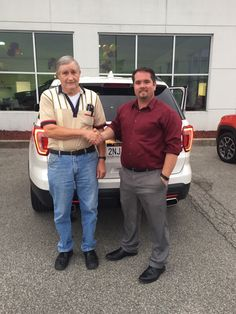 Mr. Cook with his Sales Associate, Adam McCarty. Thanks again, Mr. Cook 😉👍