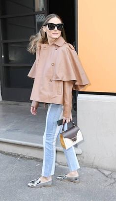 Olivia Culpo leads the stars at Tod's MFW show Estilo Olivia Palermo, Olivia Palermo Lookbook, Olivia Palermo Style, Casual Outfits, Fashion Outfits, Womens Fashion, Milano Fashion Week, Milan Fashion, Olivia Culpo