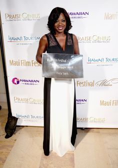 Viola Davis (Photo by Jonathan Leibson/Getty Images for the Maui Film Festival…