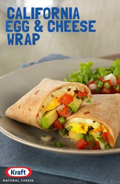 Celebrate National Egg Day with delicious Kraft Natural Pepper Jack Cheese and, what else, incredible eggs. Try this fresh, easy to make California Egg and Cheese Wrap with delicious avocado in a warm, melty tortilla for breakfast. It will make you wish every day was #NationalEggDay. http://www.kraftrecipes.com/recipes/california-egg-cheese-wrap-191322.aspx