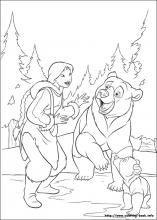 brother bear 2 coloring pages on coloring bookinfo - Coloring Pages Coloring Book Info
