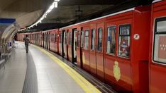 Metro Madrid, Underground Tube, Metro Subway, U Bahn, Centenario, Transportation, Europe, Memories, Autumn Rain