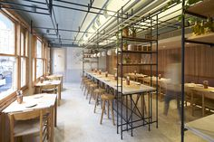 Opso Restaurant | Plan to come with a group, as this spot revolves around sharing. The airy, woodsy interior complements the simple, casual menu of modern Greek food.