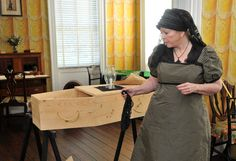 Davenport House stylishly dispenses history of 1820 yellow fever epidemic • Don't miss this October 2013 live history production in Savannah, GA