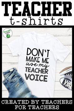 bcb5bfc5e 15 Best Teacher T-Shirts and Teacher Fashion images | Elementary ...
