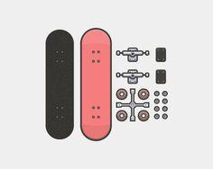 line_art_skateboarder