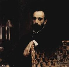 Portrait of the artist Isaak Ilyich Levitan - (Valentin Serov)