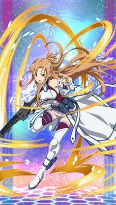 Asuna | Sword Art Online Fatal Bullet Online Anime, Online Art, Manga Art, Manga Anime, Sword Art Online Wallpaper, Sword Art Online Asuna, Kirito Asuna, Animes Wallpapers, Beautiful Anime Girl