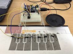 DIY Piano with Arduino (Scheduled via TrafficWonker.com)