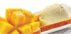 Upside-Down Caramelized Mango Cake #Recipes #Mango #Cake #Caramel