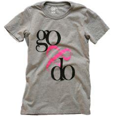 Women's Go & Do T-shirt - Gray