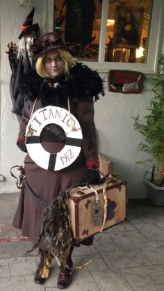 Titanic Opfer Kostüm selber machen | Kostüm Idee zu Karneval, Halloween & Fasching