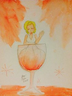 Here's your wine! by Sleepy-Onigiri on DeviantArt Marilyn Monroe Art, Weird, Sculptures, Deviantart, Drawings, Painting, Painting Art, Sculpting, Sketches