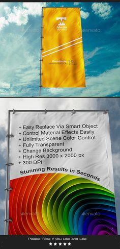 Buy Realistic Flag Banner Mockup by Media_Variety on GraphicRiver. Realistic Banner Mockup 1 psd file px in 300 DPI Easy Replace Via Smart Object Easy to control material. Roll Up Design, Football Team Logos, Photoshop, Change Background, Business Flyer Templates, Information Graphics, Flag Banners, Showcase Design, Retro
