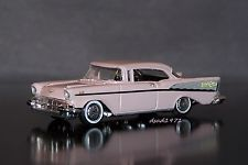 LIMITED EDITION 1957 57 CHEVY BEL AIR MINT 1/64  SCALE DIE CAST