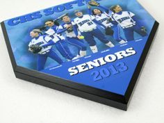 Personalized Team Photo Softball or Baseball Home by DecadeAwards, $24.95